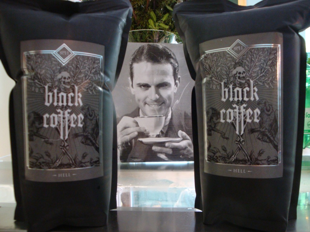 Black Coffee bags